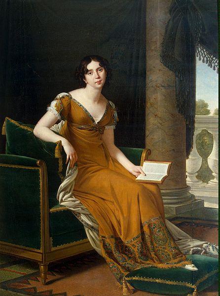 Demidoff Elisabeth Alexandrovna comtesse Stroganoff portrait par Robert Lefebvre Musée de L'Hermitage St Petersbourg Russie