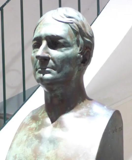 Beaujour Louis Auguste Felis dit baron Felix de buste salle Beaujour Callas Var